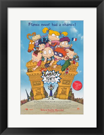 Framed Rugrats In Paris: The Movie Print