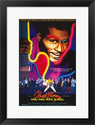 Framed Chuck Berry Hail! Hail! Rock 'N' Roll Print