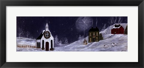 Framed Silent Night Print