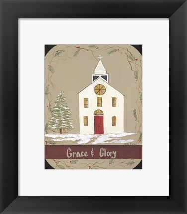 Framed Grace & Glory Print