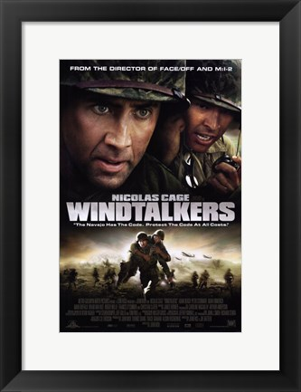 Framed Windtalkers Print