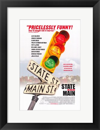 Framed State and Main Print