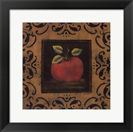 Framed Antique Apple Print