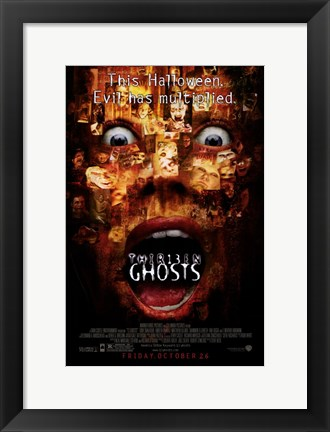 Framed 13 Ghosts Print