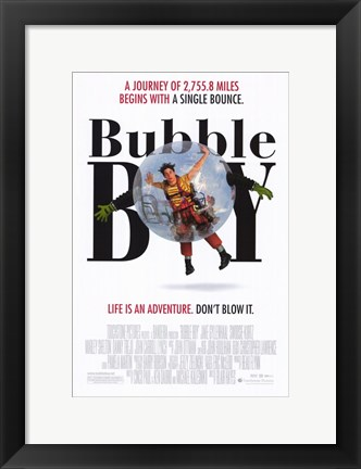 Framed Bubble Boy Print