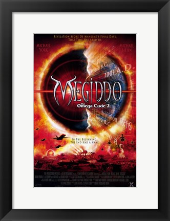 Framed Megiddo: The Omega Code 2 Print