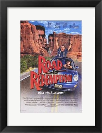 Framed Road to Redemption Print