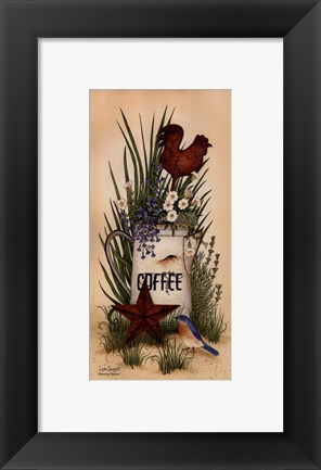 Framed Small-Morning Blooms Print
