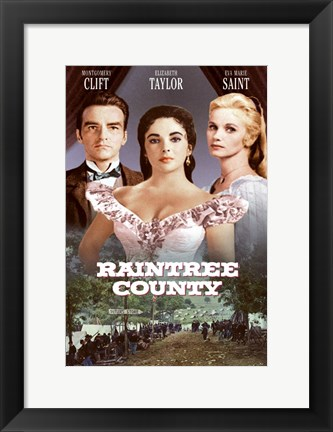 Framed Raintree County Print