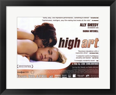 Framed High Art - wide Print