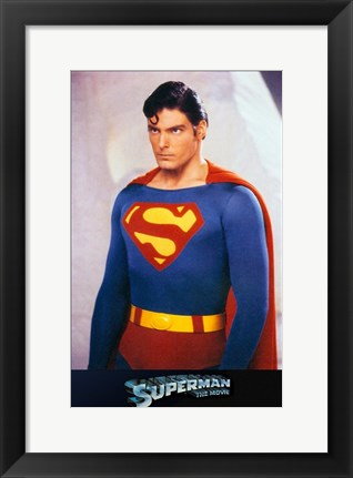 Framed Superman: The Movie Original Print