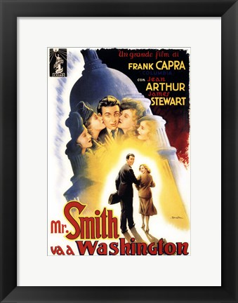 Framed Mr. Smith Goes to Washington Print