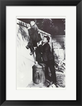 Framed Laurel and Hardy Print