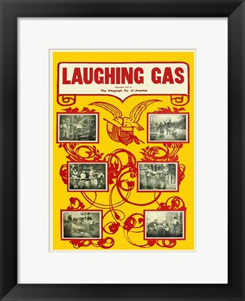 Framed Laughing Gas Print