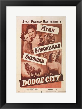 Framed Dodge City Print