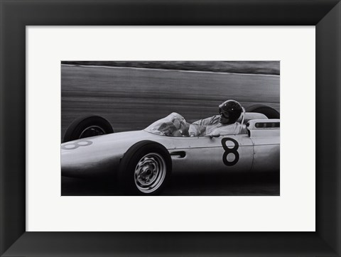 Framed Dutch Grand Prix, 1962 Print