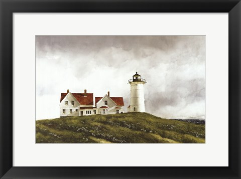 Framed Ferry Watch Print