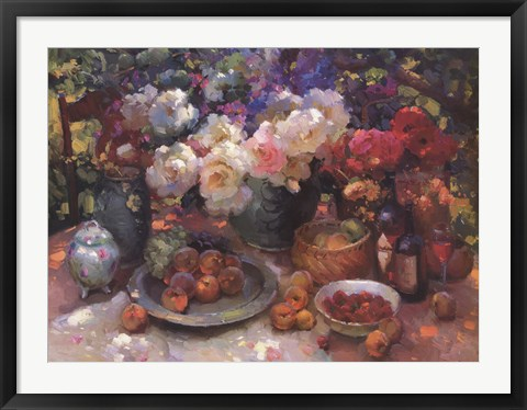 Framed Artist's Table Print