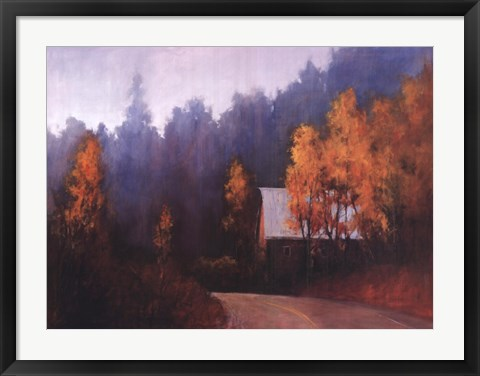 Framed Back Roads Print