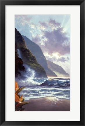 Framed Visions of Paradise Print
