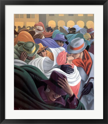 Framed Le Basier Print
