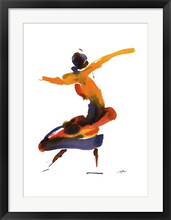 Framed Dancer II Print