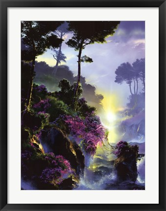 Framed World Just Beyond Your Dreams Print