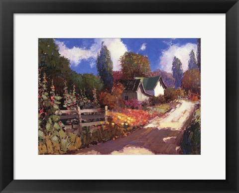 Framed Summer Lane Print