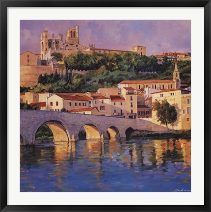 Framed French Reflections Print