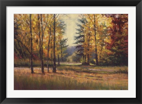 Framed Melody of Autumn Print