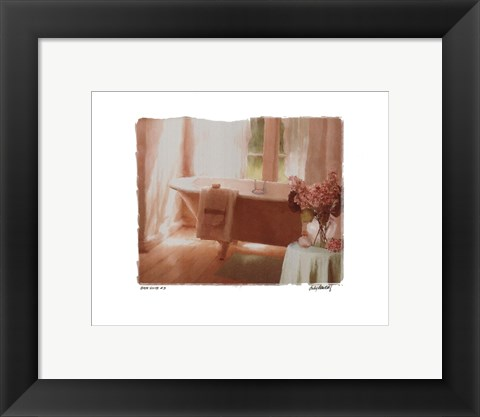 Framed Bath Suite #3 Print