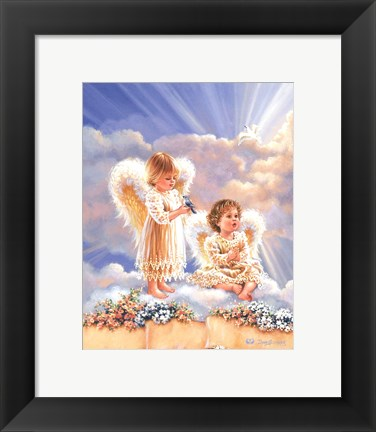Framed Heavenly Gifts Print