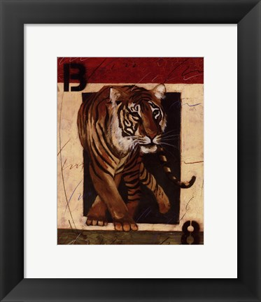 Framed On The Prowl I Print