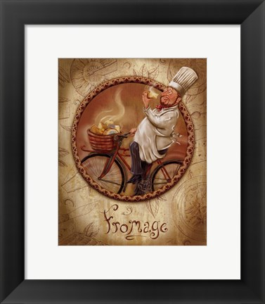 Framed Fromage Print