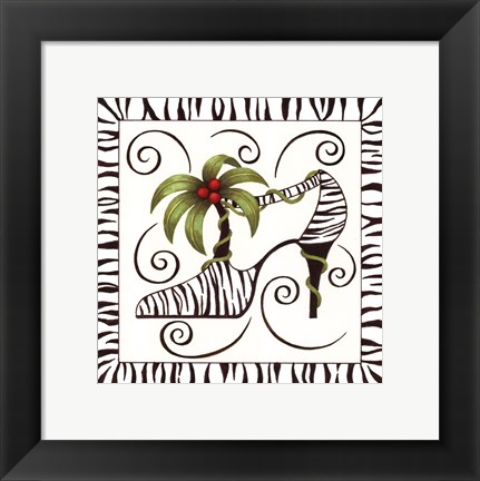 Framed Shoe Palm Print
