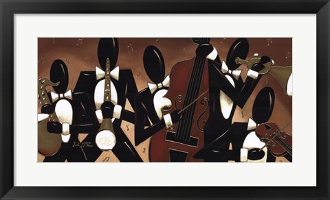 Framed Brass and String Quintet Print