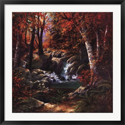 Framed Rock Creek Print