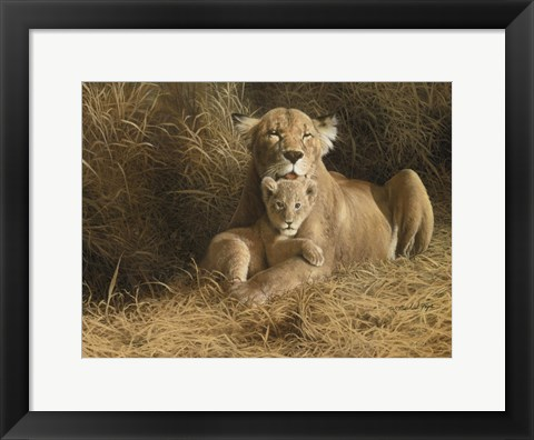 Framed Mother's Pride Print