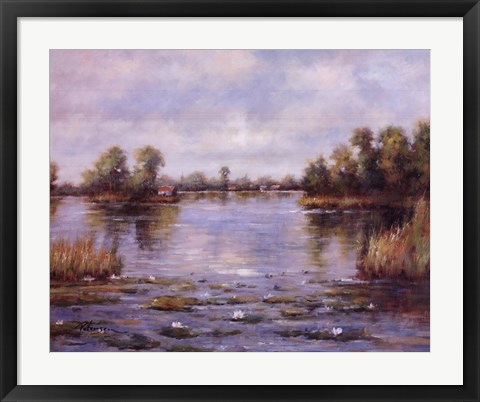 Framed Tranquil Reflections Print