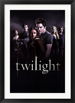 Framed Twilight - Group Print