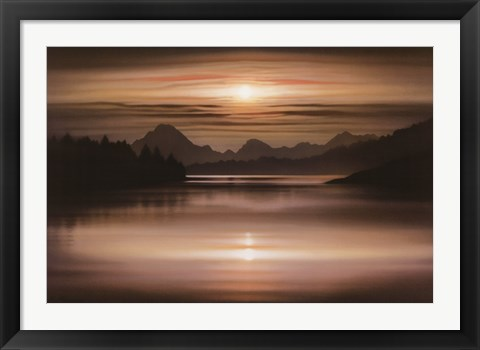 Framed Oxbow Bend Print