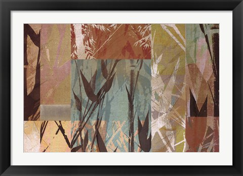 Framed Bamboo Sections Print