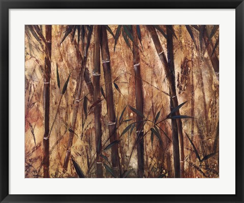 Framed Bamboo Forest II Print