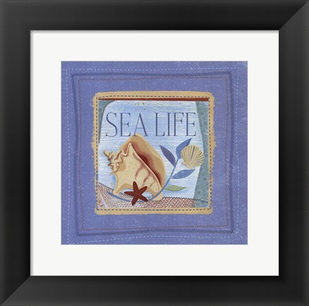 Framed Sea Life Print