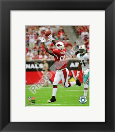 Framed Anquan Boldin 2008 Action Print
