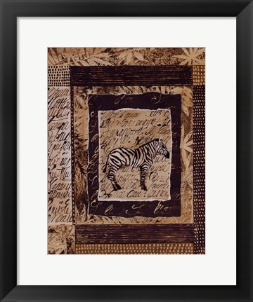 Framed Wild Kingdom ll Print