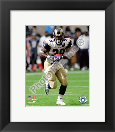 Framed Steven Jackson 2008 Action Print