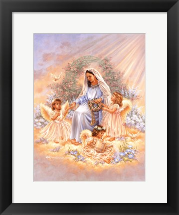Framed Gift Of Faith Print