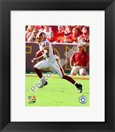 Framed Antwaan Randle El 2008 Action Print
