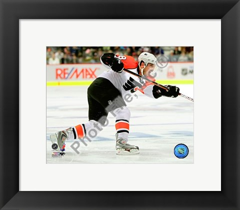 Framed Mike Richards 2008-09 Action Print